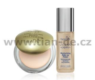 Odolný zapečený pudr na obličej + Podkladová báze Moisturizing Make-up