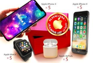 Opět rozdáváme chytrá zařízení Apple